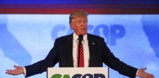 Présidentielle américaine: sûr de lui, Trump étrille Clinton et Cruz.