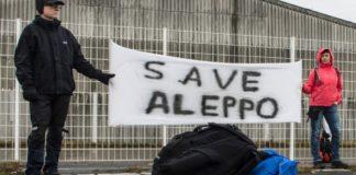 """De Berlin à Alep, une """"marche civile"""" en solidarité avec la Syrie"""